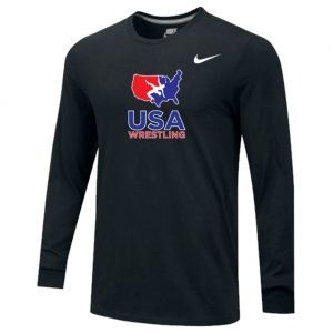 USA Wrestling Long Sleeve Training Top