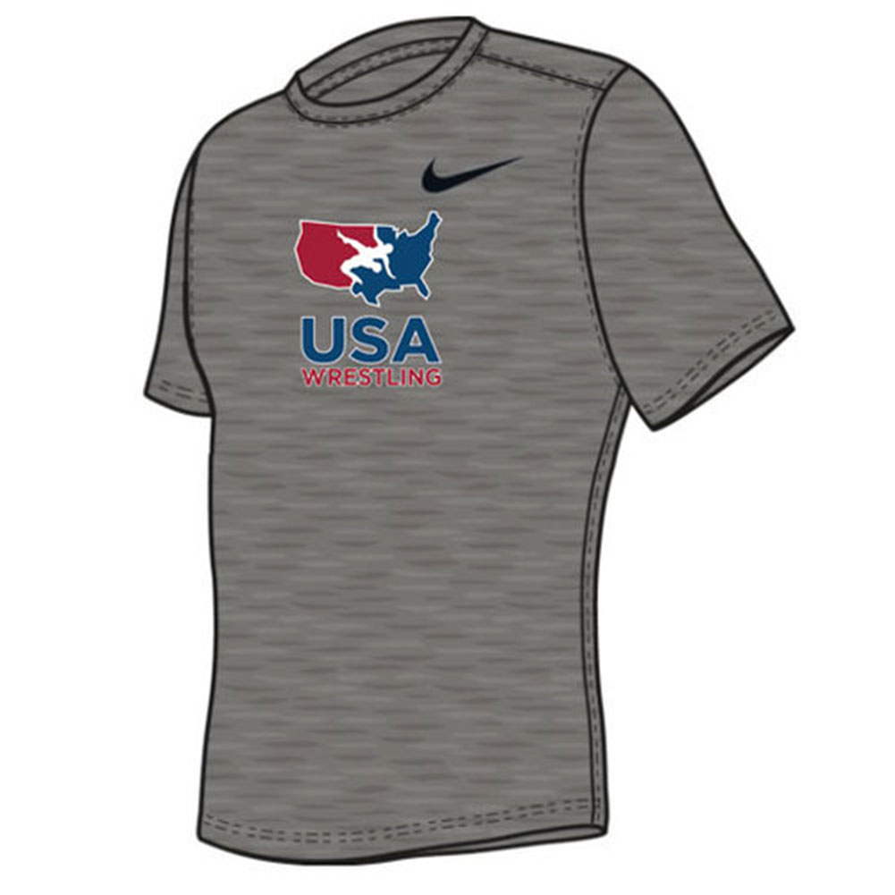 5886f266d Nike Youth USA Wrestling Tee | WWSport