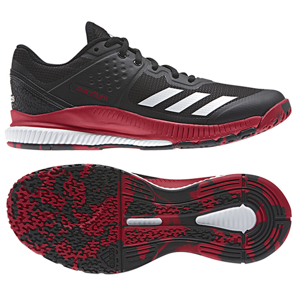 the best attitude fbc69 ed13c Adidas Women s Crazyflight Bounce Volleyball Shoes