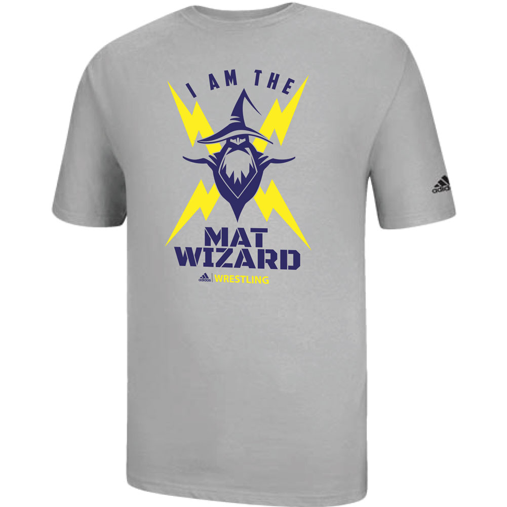 3ed022cb Adidas Men's I Am The Wizard Wrestling Tee | WWSport