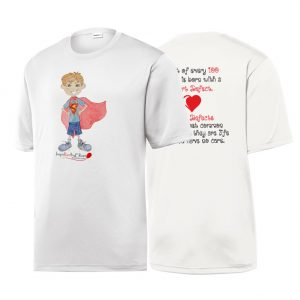 Red Balloon 4 Heart Defects Elliott Sublimated Tee