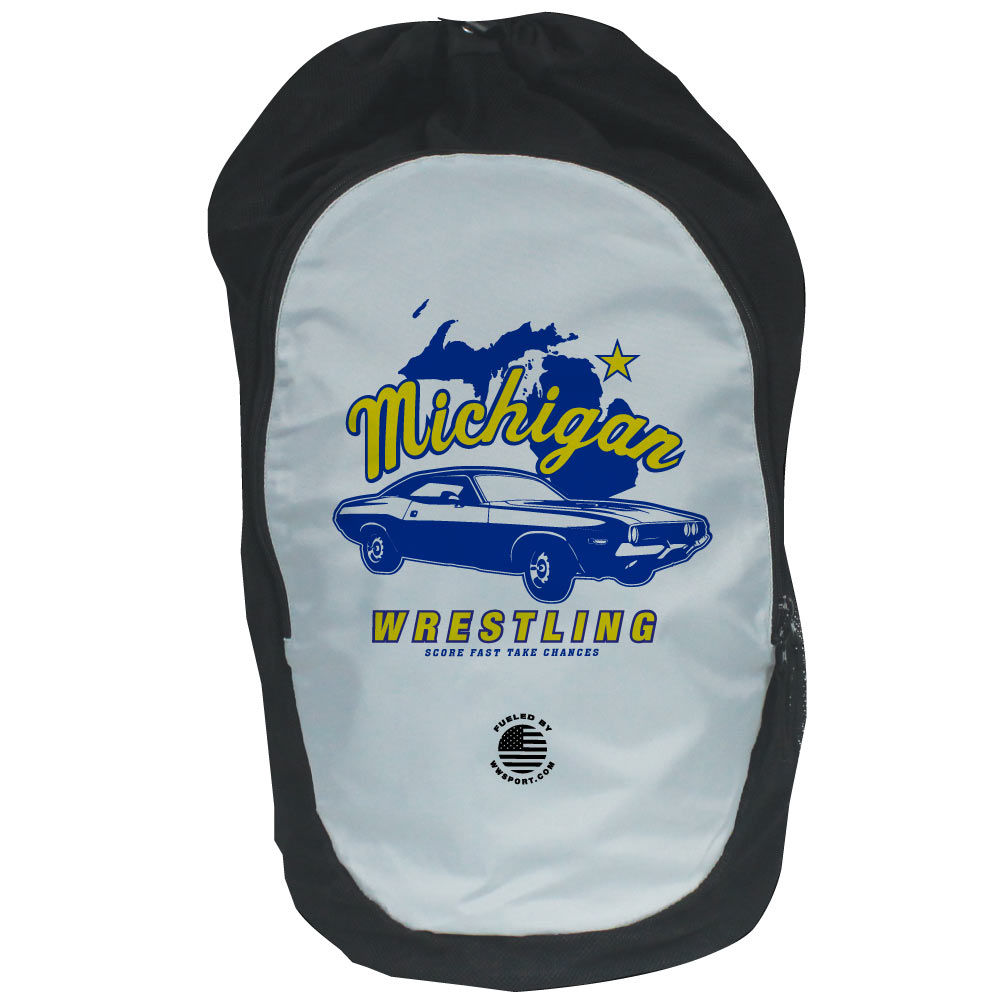 722af93d61f0 Worldwide Sport Supply Michigan Wrestling Gear Bag