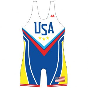 Worldwide Sport Supply Sublimated USA Wrestling Singlet