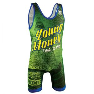 Worldwide Sport Supply Young Money Wrestling Singlet