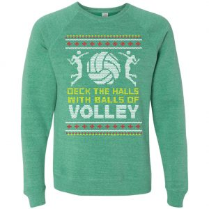 Worldwide Sport Supply Ugly Christmas Volleyball Sweater
