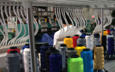Introducing Our New Embroidery Machine!